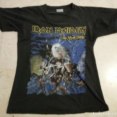 Música de colección: CAMISETA IRON MAIDEN - TALLA L - LIVE AFTER DEATH - HEAVY METAL - T-SHIRT. Lote 89228288