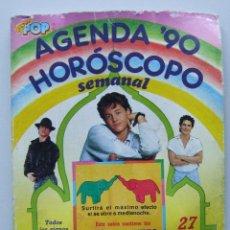 Música de colección: AGENDA SUPER POP 1990 MECANO ANA TORROJA MICHAEL JACKSON HOMBRES G MADONNA MARTA SANCHEZ. Lote 90204468