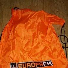 Música de colección: SACO MOCHILA EUROPA FM. Lote 90532620