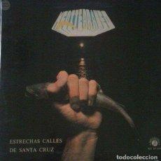 Música de colección: VINILO ESTRECHAS CALLES DE SANTA CRUZ. Lote 90789245