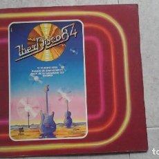 Música de colección: MATERIAL PROMOCIONAL DE LA FERIA MUSICAL IBERDISCO 84. Lote 92237805