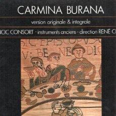 Música de colección: DISCO/VINILO-LP: CARMINA BURANA : VERSION ORIGINALE E INTEGRALE - VOLUME 1. Lote 77586430
