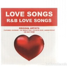 Música de colección: CD-MUSICA: LOVE SONGS: R AND B LOVE SONGS (ORIGINAL ARTISTS). Lote 71711963