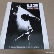 Música de colección: U2 (LIBRO) RATTLE & HUM AÑO 1988. Lote 95163367