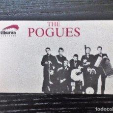 Música de colección: THE POGUES PEGATINA COMPLETA. SIN USO. Lote 96562827
