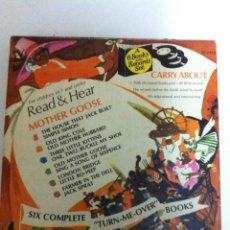 Música de colección: READ AND HEAR - ESTUCHE CON 6 DISCOS Y LIBRITOS CANCIONES INFANTILES EN INGLÉS (1970). Lote 96564815