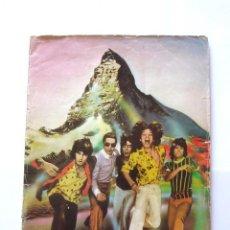 Música de colección: PROGRAMA ORIGINAL PROMOCIÓN TOUR OF EUROPE ROLLING STONES 1976. COMPLETO 34 HOJAS. Lote 96837299
