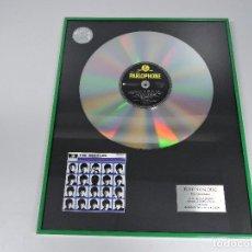 Música de colección: DISCO DE PLATINO THE BEATLES - A HARD DAY'S NIGHT - EDICIÓN LIMITADA Nº2. Lote 96862363