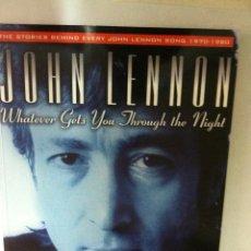 Música de colección: LIBRO JOHN LENNON - NUEVO - AÑO 1999 - EN INGLÉS. Lote 96967579