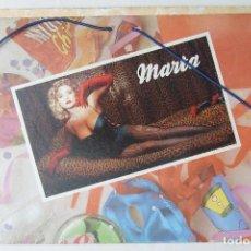 Música de colección: CARPETA DE GOMAS CON MARTA SANCHEZ Y MECANO DE MATUTANO. Lote 96997031