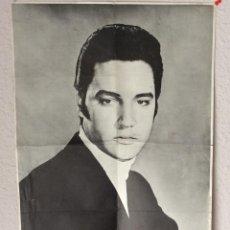 Música de colección: CARTEL RCA. ELVIS PRESLEY. ORIGINAL 1969. IMPRESO EN ARTE MADRID. 39.5 X 55.5 CMS.. Lote 97062379