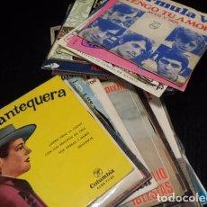 Música de colección: LOTE 55 DISCOS DE VINILO SINGLES 7 VARIADOS. Lote 97352903