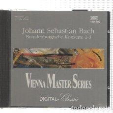Música de colección: CD-MUSICA: COLECCION VIENNA MASTER SERIES: JOHANN SEBASTIAN BACH (PLITZ 1991). Lote 100192168