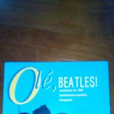 Música de colección: OLE BEATLES LIBRO BEATLEMANIA ESPAÑOLA. Lote 100635318
