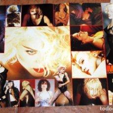Música de colección: POSTER REVISTA SUPER POP - MADONNA Y TOM CRUISE - AÑOS 80 - SUPERPOP - MEDIDAS 59 X 41,5. Lote 102078843