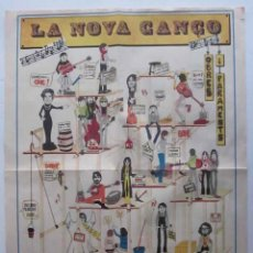Música de colección: POSTER DE LA NOVA CANÇO. Lote 103702503
