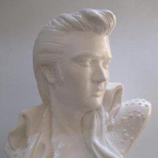Música de colección: BUSTO DE ELVIS PRESLEY - EL REY DEL ROCK. Lote 104013247