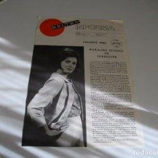Música de colección: PUBLICIDAD DISCOGRAFICA DE -VELTER - MADALENA IGLESIAS- LA DE LAS FOTOS VER TODOS MIS LOTES DE MUSI. Lote 104346151