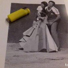 Música de colección: ISABEL PANTOJA Y PAQUIRRI . GRAN HOJA FOTOGRAFICA. Lote 105668691
