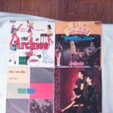 Música de colección: SINGLES VARIOS: THE SWEET.THE ARCHIES.ALPHAVILLE.MAGENTA.MIDDLE OF THE ROAD.THE EQUALS.. Lote 105682834