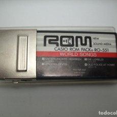 Música de colección: CASIO ROM PACK RO-551. BUEN ESTADO. Lote 107588471