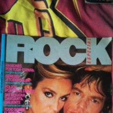 Música de colección: ROCK ESPEZIAL NÚMERO 3 NOVIEMBRE 1981 RAMONES, POLICE, MICK JAGGER, MOVIDA MADRILEÑA, TINO CASAL.... Lote 107642543