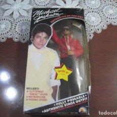 Música de colección: MICHAEL JACKSON MUÑECO BEAT IT DE 25 CM APROXI. SUPERSTAR THE 80-RARO!!!. Lote 107799531