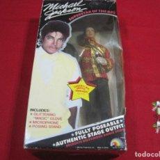 Música de colección: MICHAEL JACKSON MUÑECO AMERICAN MUSIC AWARDS OUTTFIT 25 CM APROXI. SUPERSTAR THE 80-RARO!!!. Lote 107800495