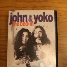 Música de colección: JOHN LENNON & YOKO ONO THE BED-IN VHS . Lote 107841491