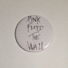 Música de colección: PINK FLOYD - THE WALL CHAPA 59MM (CON IMPERDIBLE) - ROCK PROGRESIVO. Lote 108404747