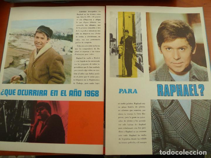 Música de colección: interesante felicitacion original de raphael año 1968 rara perfecto estado - Foto 2 - 109354863