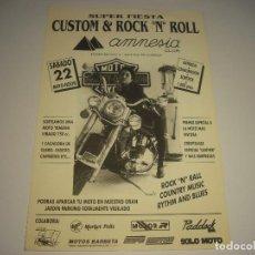 Música de colección: ROCK N RALL, COUNTRY MUSIC , RYTHM AND BLUES, SUPER FIESTA EN CLUB AMNESIA. Lote 109893159