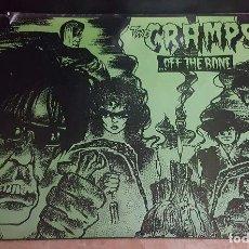 Música de colección: POSTER ORIGINAL THE CRAMPS - OFF THE BONE, 1983. Lote 110421087