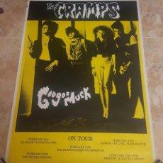 Música de colección: POSTER ORIGINAL THE CRAMPS - GOO GOO MUCK, 1981. Lote 110421151