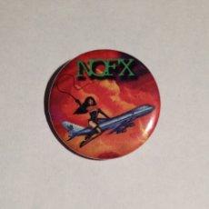 Música de colección: NOFX - S&M AIRLINES CHAPA 31MM (CON IMPERDIBLE) - PUNK ROCK. Lote 151391834