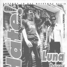 Musique de collection: NUEVO HATE MAGAZINE Nº 4 - FANZINE ORIGINAL DE 1997. DOVER, LUNA. Lote 111439251