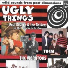 Música de colección: UGLY THINGS Nº 32 - REVISTA / FANZINE ORIGINAL U.S.A. 2011. BEAT, GARAGE, R&B, PSYCHO, FREAK BEAT.. Lote 111517435