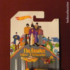 Musique de collection: BUMP AROUND 2016 HOT WHEELS THE BEATLES 50TH ANNIVERSARY YELLOW SUBMARINE. Lote 111676119