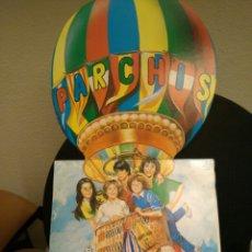 Música de colección: DISCO LP DE PARCHÍS COLOR ROJO. Lote 112742898