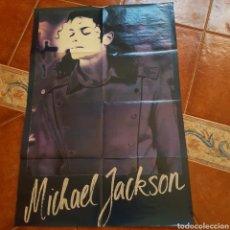 Música de colección: POSTER GRANDE A DOBLE CARA MICHAEL JACKSON - ROXETTE DE LA REVISTA POPCORN. Lote 112759907