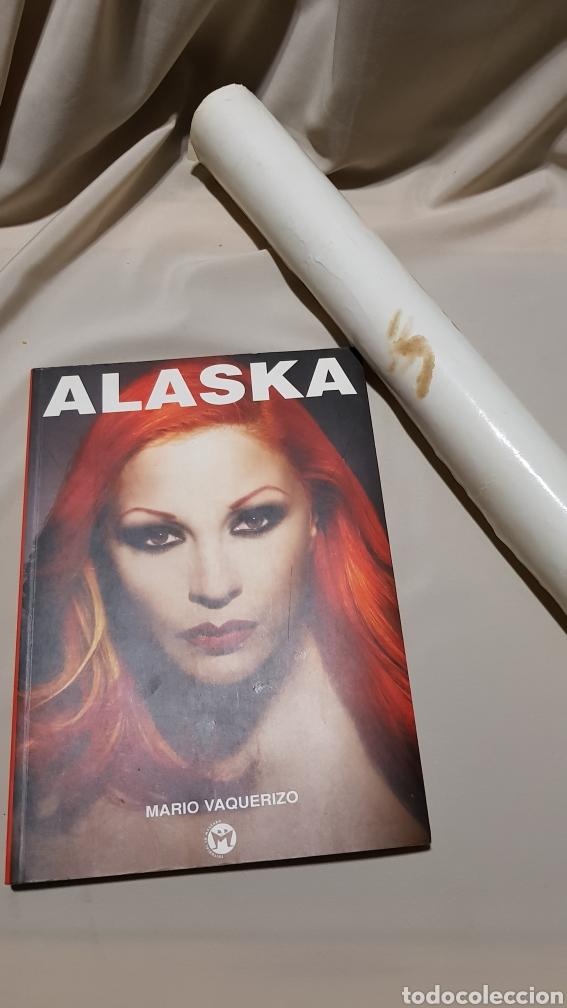 Música de colección: poster original Alaska y dinarama los 40 principales coca cola + libro por mario vaquerizo - Foto 10 - 112943520