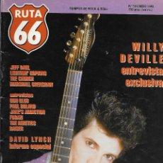 Música de colección: RUTA 66 (REVISTA DE MÚSICA), NÚMERO 58. ORIGINAL DE ENERO DE 1991. Lote 113316459