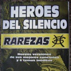 Música de colección: HÉROES DEL SILENCIO. RAREZAS POSTER 99,5 X 139 CMS.. Lote 206590060