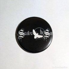 Música de colección: SWALLOW THE SUN - LOGO IMÁN NEVERA 59MM - DOOM METAL DEATH METAL. Lote 49274869
