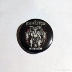 Música de colección: DØDHEIMSGARD - THE DEVIL CHAPA 31MM (CON IMPERDIBLE) - BLACK METAL. Lote 49386236