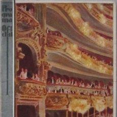 Música de colección: GIUSEPPE VERDI. RIGOLETTO. PROGRAMA OFICIAL GRAN TEATRO DEL LICEO. TEMPORADA 1928-1929. Lote 116406571