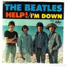 Música de colección: THE BEATLES: HELP- I'M DOWN U.S.A ORIGINAL 1965 -PORTADA PAPEL EX!!. Lote 116506006