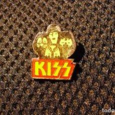 Música de colección: KISS: RARO PIN DE METAL - ANTIGUO- ORIGEN U.S.A - COLECCIONISTAS DE LA BANDA. Lote 116863775