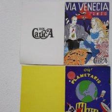 Musique de collection: MOVIDA MADRILEÑA INVITACIONES AÑOS 80 PACHA OH! MADRID. Lote 117148295