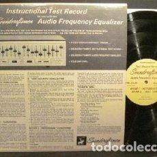 Música de colección: DISCO PARA TEST INSTRUMENTAL Y DE VOZ. Lote 118399651